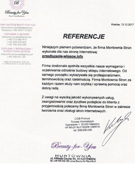 Referencje CDP Primus
